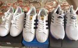 Phát hiện 480 đôi giày có dấu hiệu giả mạo nhãn hiệu Adidas, Nike