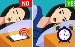 Tại sao không nên sử dụng điện thoại làm đồng hồ báo thức