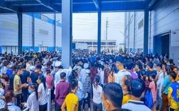 Hàng ngàn công nhân Luxshare-ICT Việt Nam đình công phản đối chính sách lương thưởng