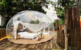 """Trải nghiệm đi nghỉ cuối tuần """"hú hồn"""" ở ngoại ô Hà Nội: Book villa 6 triệu/đêm có nhà bong bóng ảo diệu giống Bali, khách ngơ ngác nhận phòng y như cái lều vịt"""
