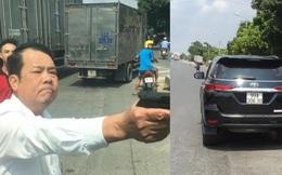 NÓNG: Khởi tố giám đốc công ty dịch vụ bảo vệ rút súng chĩa vào tài xế xe tải ở Bắc Ninh