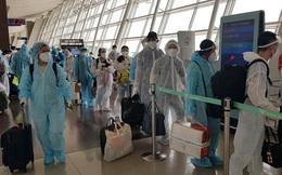 Hai chuyến bay đưa gần 380 công dân Việt Nam từ Hàn Quốc về nước an toàn