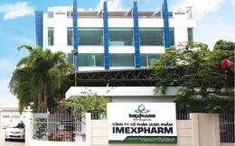 Imexpharm (IMP) báo LNTT tăng 28% sau 8 tháng, đáng chú ý kênh nhà thuốc OTC giảm mạnh trước dịch Covid-19
