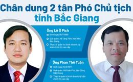 Chân dung 2 tân Phó Chủ tịch tỉnh Bắc Giang