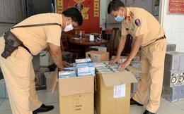 An Giang: Bắt giữ 5.000 chiếc khẩu trang y tế và nhiều hàng hóa khác không hóa đơn