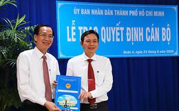 Ông Lê Văn Chiến làm Chủ tịch UBND quận 4