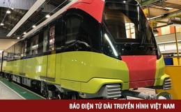 Đoàn tàu đầu tiên tuyến Metro Nhổn - ga Hà Nội sắp về đến Việt Nam