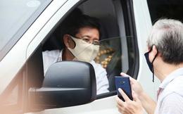 Ông Đoàn Ngọc Hải đưa bệnh nhân từ Hà Nội về Hà Giang cách khoảng 300 km