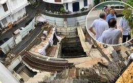 'Cấp tốc' kiểm tra công trình nhà riêng lẻ cấp đến 4 hầm ở Hà Nội
