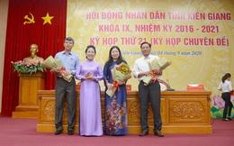 Bà Lê Hồng Thắm được bầu làm Phó Chủ tịch HĐND tỉnh Kiên Giang