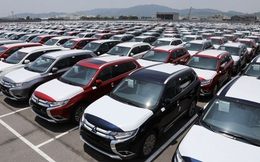 Nhập khẩu ô tô nguyên chiếc dưới 9 chỗ giảm tới 46,8% trong 8 tháng