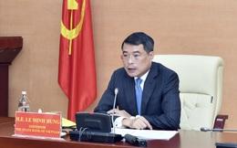 Thống đốc Lê Minh Hưng: NHNN đang nghiên cứu để đưa nội dung chuyển đổi số và Fintech vào Luật các TCTD