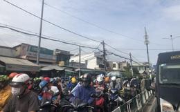 """Cung đường kết nối Nhơn Trạch với Quận 2 (Tp.HCM) qua phà Cát Lái kẹt xe kinh hoàng, người dân mong chờ cầu Cát Lái """" giải cứu"""""""