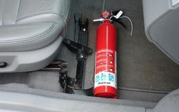 Từ hôm nay, xe ô tô dưới 9 chỗ không còn phải lắp bình chữa cháy