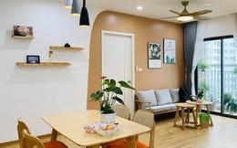 Nhà ở xã hội 69m² siêu ấm áp và tiện ích với chi phí cải tạo 200 triệu đồng của cặp vợ chồng 9X ở Từ Liêm, Hà Nội