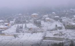 Clip toàn cảnh: Sa Pa chìm trong màn tuyết nhiệt đới trắng xóa đẹp mê mẩn lòng người