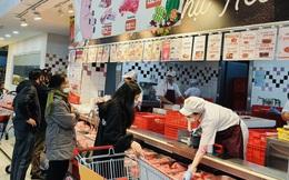 Giá thịt lợn siêu thị rẻ hơn chợ truyền thống