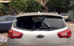 Công an điều tra vụ xe ô tô bị đập vỡ kính vì nghi không gửi vào bãi