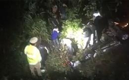 Xe bán tải lao xuống mương ở Quảng Ninh làm 6 người thương vong