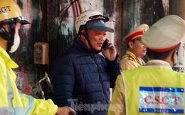 Gọi điện thoại người thân, phóng xe thông chốt đo nồng độ cồn ở Hải Phòng