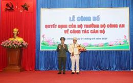 Bắc Ninh có tân Phó Giám đốc Công an tỉnh