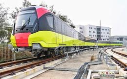 Lộ diện tàu metro Nhổn - ga Hà Nội lăn bánh