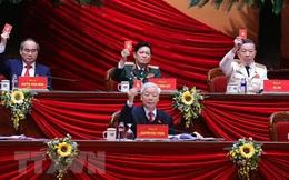 Bầu 16 Uỷ viên Bộ Chính trị và Chủ tịch MTTQVN vào Đoàn Chủ tịch Đại hội