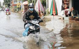Sài Gòn không mưa, thành phố Thủ Đức vẫn ngập từ sáng đến trưa, dân bỏ nhà đi nơi khác