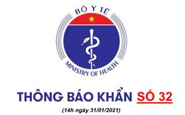 Bộ Y tế khẩn cấp tìm người từng đến quán Trung Sún, nhà hàng Lẩu Hutong