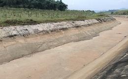 """Kênh 4.300 tỉ đồng đứt gãy giữa mùa khô: """"Lộ"""" nhiều điểm nứt, hư hỏng sau sự cố"""