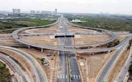 Nút giao Vành đai 3 với cao tốc Hà Nội - Hải Phòng trước ngày thông xe