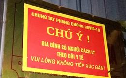 Hà Nội đề nghị treo biển 'Gia đình có người theo dõi phòng dịch' trước cửa nhà ai bay về từ TP.HCM, Đà Nẵng