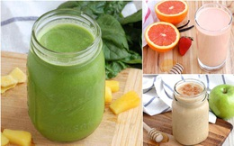7 món sinh tố giàu dinh dưỡng cần bổ sung ngay để tăng cường sức khỏe cho cả nhà