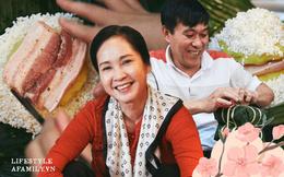 """Có những gia đình Hà Nội nửa thế kỷ tự tay gói bánh chưng như nghệ sĩ Hương Bông, không phải bởi tiết kiệm mà vì lý do """"bí mật"""" này"""