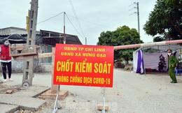 Hưng Yên giãn cách xã hội 2 huyện khi có 3 ca dương tính SARS-CoV-2