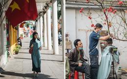 Chùm ảnh: Hà Nội đẹp nao lòng trong nắng ngày 30 Tết