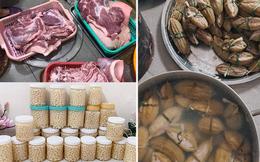 """Đã tìm ra đại gia đình có cỗ Tết """"khủng"""" nhất: 11 triệu tiền thịt, 120 trái khổ qua, 160 hột vịt nhưng chưa sốc bằng khối lượng củ kiệu"""