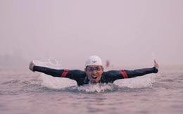 """""""Siêu kình ngư"""" bơi từ cầu Long Biên đến biển Thái Bình: """"Tôi muốn bơi xuyên Việt 2800 km"""""""