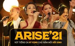 Những tiết mục khó quên tại ARISE'21: Hà Trần - Uyên Linh đẳng cấp, Nguyên Hà - Hoàng Dũng khắc khoải cảm xúc trong thời khắc đặc biệt