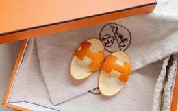 Rich kid 2021 phải đi dép Hermès vỏ cam: Giá trị 0 đồng nhưng chất ngang bản gốc