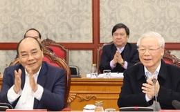 Tổng Bí thư, Chủ tịch nướcchủ trì phiên họp đầu tiên của Bộ Chính trị và Ban Bí thư