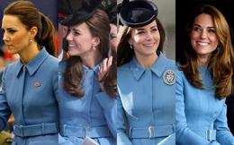 """10 năm làm dâu Hoàng gia, Kate Middleton tiêu tốn 3 tỷ đồng cho BST áo choàng: Từ đồ """"tái chế"""" đến có giá trên trời đều toát lên phong thái không chê được"""