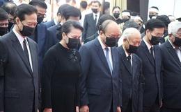 Lãnh đạo Đảng, Nhà nước viếng nguyên Phó thủ tướng Trương Vĩnh Trọng