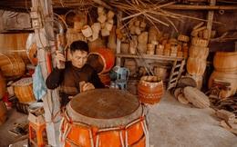 Chuyện khó tin về một dòng họ mất tận nửa năm để đi tìm tấm da trâu đặc biệt làm chiếc trống lớn nhất Việt Nam chào đón năm Tân Sửu 2021!