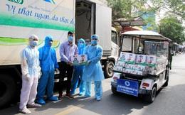 Hơn 800 trẻ em hiện đang cách ly tại nhiều địa phương nhận sữa và quà của Vinamilk ngay trước Tết