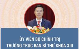 INFOGRAPHIC: Chân dung ông Võ Văn Thưởng tân Thường trực Ban Bí thư