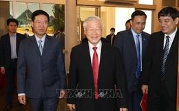 Chùm ảnh: Tổng Bí thư, Chủ tịch nước trao Quyết định phân công Ủy viên Bộ Chính trị