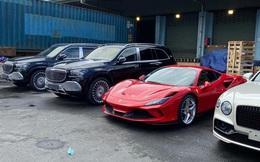 """Dàn xe gần 100 tỷ về nước ngay trước Tết Nguyên đán phục vụ giới đại gia Việt: Cặp đôi Mercedes-Maybach GLS 600 chiếm """"spotlight"""""""