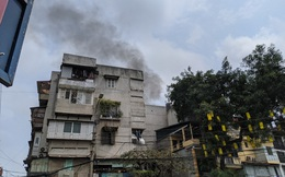 CLIP: Cháy lớn trong phố cổ, cả khu phố náo loạn