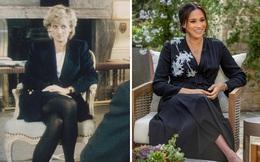 Đều thực hiện cuộc phỏng vấn rúng động hoàng gia, Meghan Markle phải cúi đầu xấu hổ trước cách ứng xử đẳng cấp của Công nương Diana